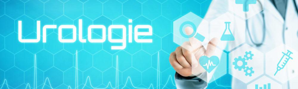 Arzt mit futuristischem Interface - Urologie